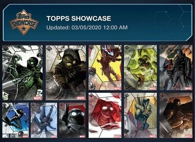 SHOWCASE-SPIDER-MAN NOIR-11 CARD RARE SET-TOPPS MARVEL COLLECT