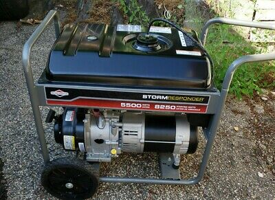 Briggs Stratton Storm Responder 5500w Portable Generator For Parts Only ...