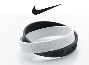 Nike Stand up Speak up Armband Original Doppel-Bettelarmband Standardgröße Adult