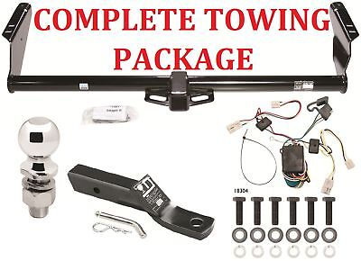 TRAILER HITCH COMPLETE PACKAGE FOR 04 10 TOYOTA SIENNA ALL MODELS 2 RECEIVER