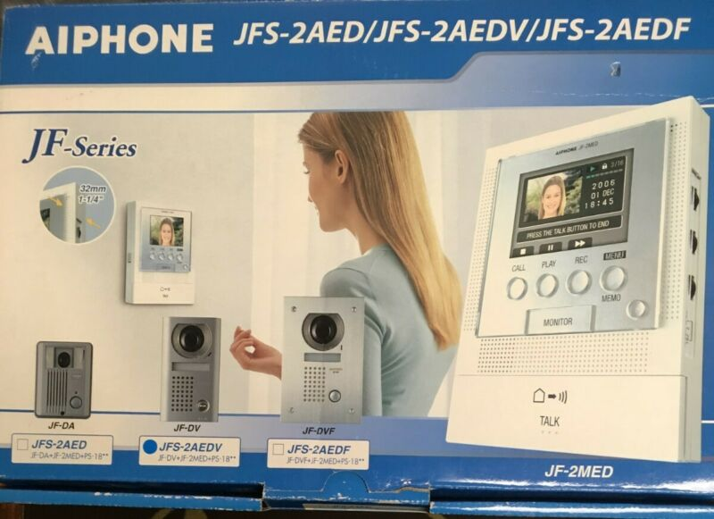Aiphone JFS-2AEDV Hands-Free Video Intercom Set