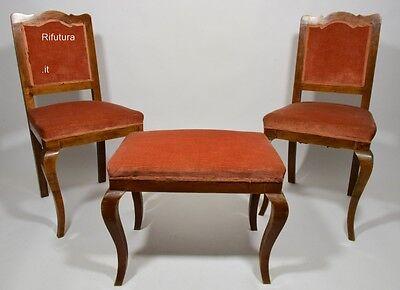 Sedie Vintage Imbottite usato in Italia | vedi tutte i 56 ...