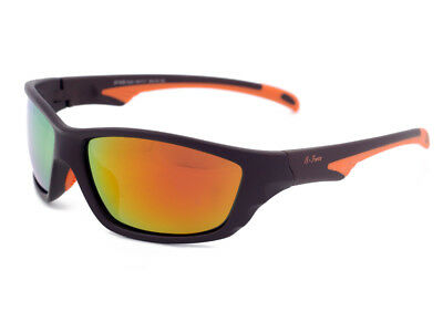 a3a2397af589 Beach Force Sports Polarised Sunglasses for Driving Cycling Soft Rubber  Nose Pad