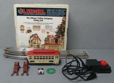 Lionel 6-11809 The Village Trolley Christmas O Gauge Train Set/Box