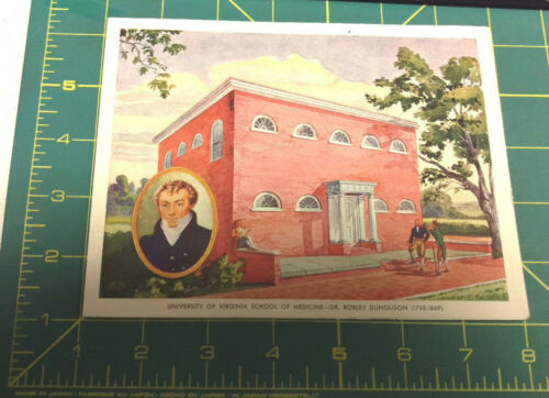 Vintage Ciba Phamaceutical Products Inc Digifoline Card Univ Virginia Medicine
