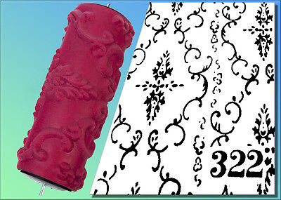Malerrolle,Strukturwalze,Malerwalze,Strukturrolle Nr. 322