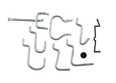 National Hardware N112-060 2 Pack V2394 Lock Peg Hook Assortment Zinc Plated