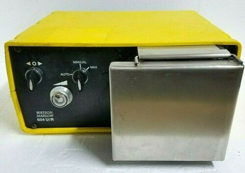 Watson Marlow 604 U/R Peristaltic Pump with Manual