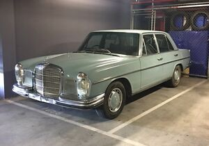 1970 Mercedes-Benz 280SE W108 Saloon South Yarra Stonnington Area Preview