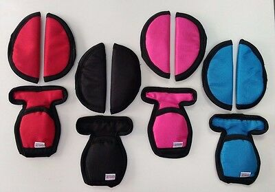 BABY CAR SEAT STRAP BELT CROTCH COVERS SHOULDER PADS MAXI COSI COMPATIBLE (Maxi Cosi Car Seat Shoulder Strap Pads)