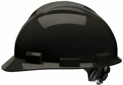 Bullard Cap Style Hard Hat With 4 Point Ratchet Suspension Black