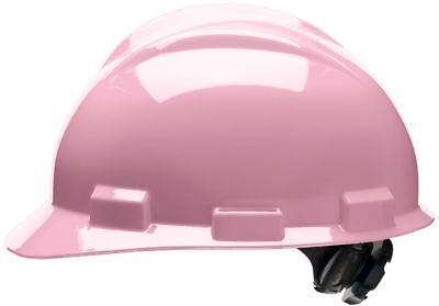 Bullard Cap Style Hard Hat With 4 Point Ratchet Suspension Pink