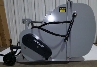 Trac Vac Flail Collection Hopper Mower 45 Cut 25cu Ft Cap Ground Discharge