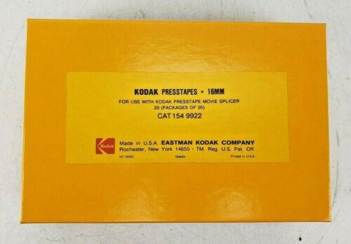 Kodak Presstapes 16mm Movie Film Splices CAT-154-9922 20 Packages of 20