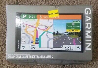 Garmin Drive Smart 61 GPS (6.95-inch screen) North America LMT-S (Open-Box)