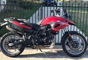 BMW F700GS, 800cc,low km, may trade another road bike,$8,900. Youngtown Launceston Area Preview