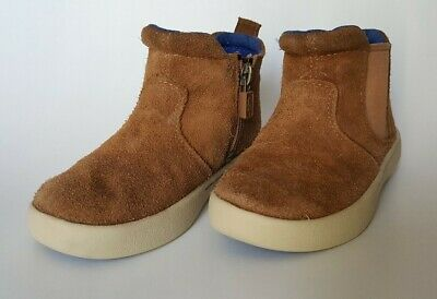 Toddler UGG HAMDEN Boots Chestnut Size 9 S/N 1012395T