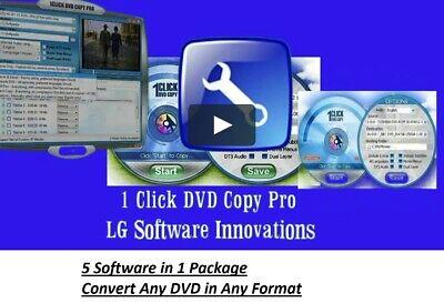 1Click DVD Copy Pro✔️ Video MP4 IPOD IPAD Converter ✔️ License Digital DOWNLOAD Ipod Mp4 Converter