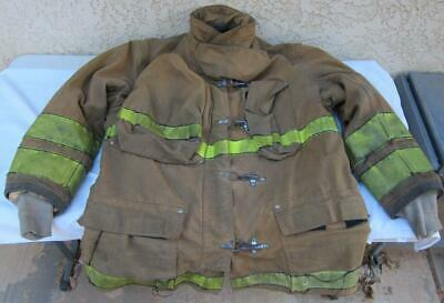 Globe 1996 Firefighter Fireman Turnout Gear Jacket Size 44 Length 35 - D E5