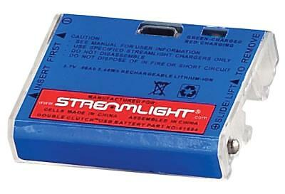 (Streamlight Double Clutch Rechargeable USB Lithium Polymer Battery Pack - 61604)