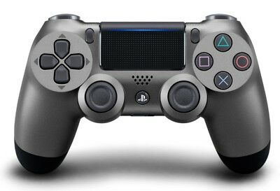 Sony DualShock 4 Wireless Controller for PlayStation 4 - Steel Black