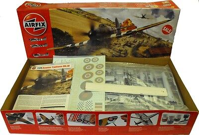 Airfix A19002 1/24 Scale Hawker Typhoon Mk1b Plastic Model kit