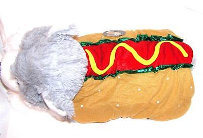 Animal Welfare League Benefit Costume Parade Halloween SIZE M HOT DOG WEINER