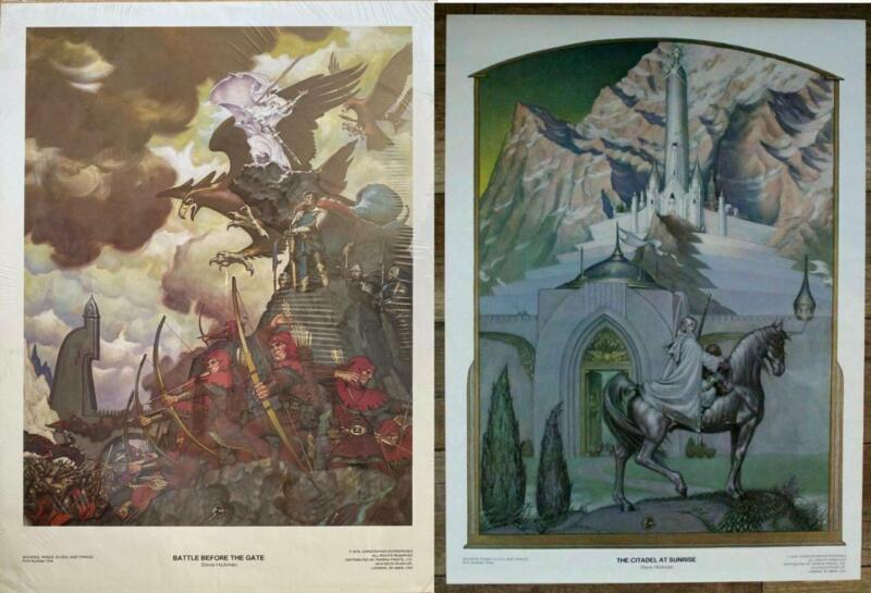 STEVE HICKMAN Posters BATTLE BEFORE THE GATE, CITADEL AT SUNRISE