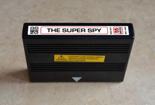 The Super Spy MVS • Neo Geo JAMMA Arcade System • SNK Action/Adventure
