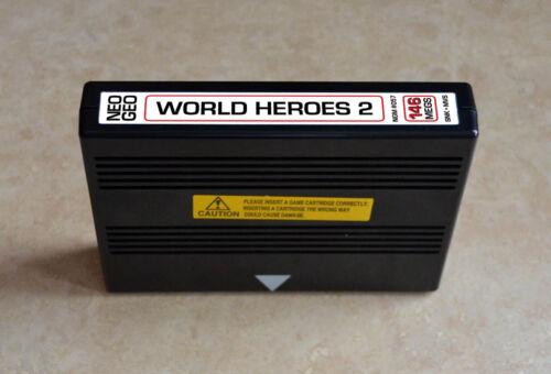 World Heroes 2 MVS • Neo Geo JAMMA Arcade System •SNK ADK Alpha Fighting
