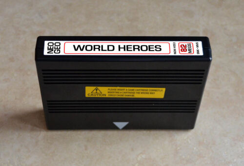 World Heroes 1 MVS • Neo Geo JAMMA Arcade System •SNK ADK Alpha Fighting