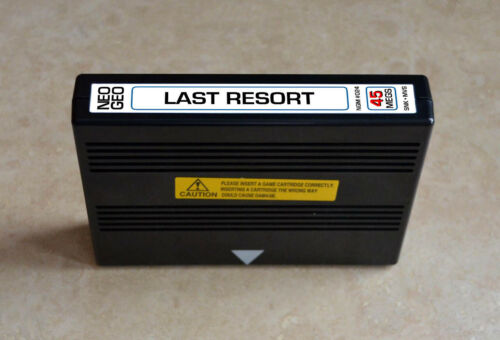 Last Resort MVS • Neo Geo JAMMA Arcade System • SNK Shooter Shmup ~ R-Type