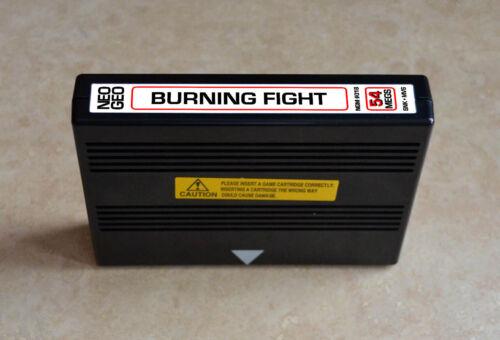 Burning Fight MVS • Neo Geo JAMMA Arcade System • SNK ~ Final Fight Beat