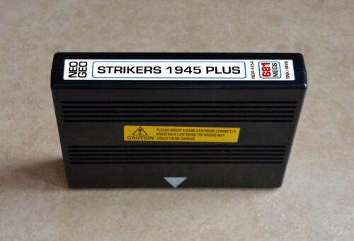 Strikers 1945 Plus + MVS • Neo Geo JAMMA Arcade/System •SNK Shmup Shooter