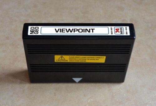 View Point Viewpoint MVS • Neo Geo JAMMA Arcade System • SNK Sammy Shooter Shmup