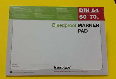 Copic Marker Block DIN A4 Layoutpapier transotype MARKER PAD