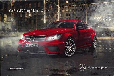 Mercedes C 63 AMG Coupe Black Series, 2011, deutsch, gebraucht gebraucht kaufen  Deutschland