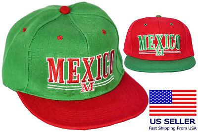 Eagle Flat (Mexico Logo Cap Snapback Eagle Flat Green Mexican Bill Baseball New Coat Arms)