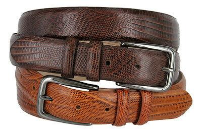 The Spectre - Mens Italian Calfskin Genuine Leather Dress Belt, Sizes 32-54! - Italian Dress Belt