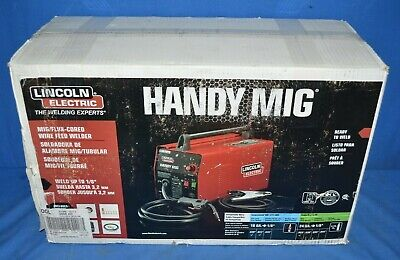 Lincoln Electric Welder Handy Mig Flux Cored Wire Fed Welder Model K2185-1 New