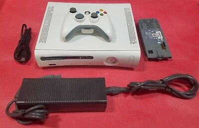 Microsoft Xbox 360 20GB White Video Game Console Gaming System Bundle w/Acess