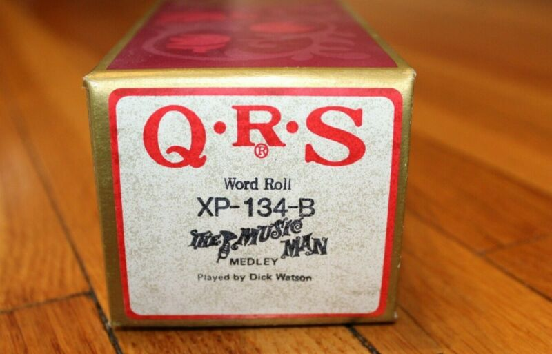 QRS Player Piano Word Roll - The Music Man Broadway Musical Medley XP-134-B