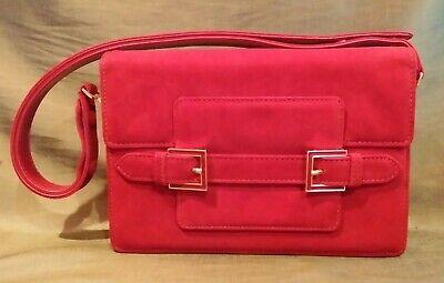 Fendi Red Suede Bag