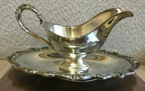 Vintage Silver Gravy Boat