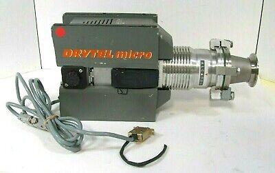 Alcatel Annecy Drytel Micro High Vacuum Turbo Pump Mdp5011 Ie Turbo Drag Pump