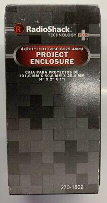Radioshack Project Enclosure Box 4x2x1 101.6x50.8x25.4mm 270-1802 2701802