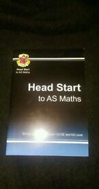 Head start to AS MATHS textbook