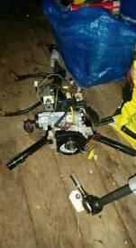 Honda civic ek ej9 96 to 00 steering cloum / shaft / ing barrel / key
