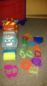 play doh truck and cutters