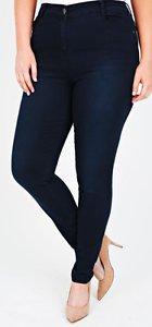 Indigo Blue Super Stretch Skinny Jeans - Size 22 and 24 Paddington Eastern Suburbs Preview
